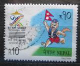 Poštovní známka Nepál 1999 Sportovní hry Mi# 690