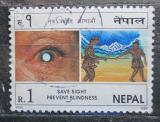 Poštovní známka Nepál 1998 Kampaň Pomoc slepým Mi# 677