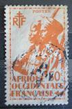 Poštovní známka Francouzská Západní Afrika 1945 Koloniální vojáci Mi# 7