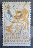 Poštovní známka Francouzská Západní Afrika 1945 Koloniální vojáci Mi# 14