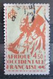 Poštovní známka Francouzská Západní Afrika 1945 Koloniální vojáci Mi# 18