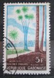 Poštovní známka Gabon 1967 Dracaena fragrans Mi# 289