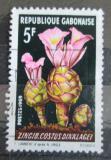 Poštovní známka Gabon 1969 Květiny Mi# 343