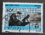 Poštovní známka Gabon 1972 Nat King Cole, jazzman Mi# 478