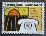 Poštovní známka Gabon 1980 Světový den komunikace Mi# 729