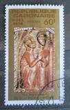 Poštovní známka Gabon 1978 Vánoce, dřevořezba Mi# 685