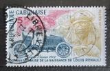 Poštovní známka Gabon 1977 Renault Mi# 629