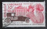Poštovní známka Gabon 1977 Renault Mi# 630