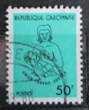 Poštovní známka Gabon 1981 Matka s dítětem Mi# 792