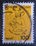 Poštovní známka Gabon 1981 Matka s dítětem Mi# 794