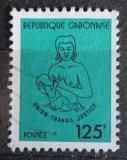 Poštovní známka Gabon 1983 Matka s dítětem Mi# 881