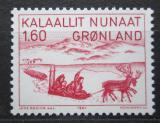 Poštovní známka Grónsko 1981 Ilustrace, Jens Kreutzmann Mi# 128