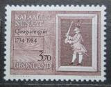 Poštovní známka Grónsko 1984 Christianshab, 250. výročí Mi# 152