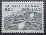 Poštovní známka Grónsko 1985 Umění, Gerhard Kleist Mi# 161