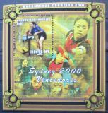 Poštovní známka Mosambik 2001 LOH Sydney Mi# Block 84 Kat 10€