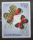 Poštovní známka Guinea-Bissau 2010 Motýli Mi# 5099