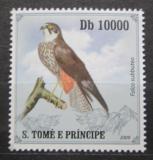 Poštovní známka Svatý Tomáš 2009 Ostříž lesní Mi# 4266