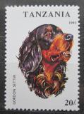 Poštovní známka Tanzánia 1993 Gordonsetr Mi# 1599
