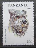 Poštovní známka Tanzánia 1993 Knírač Mi# 1600