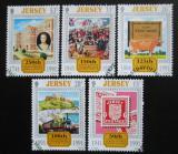 Poštovní známky Jersey, Velká Británie 1991 Různá výročí Mi# 544-48 Kat 5.50€