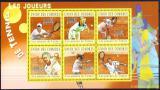 Poštovní známky Komory 2010 Tenisti Mi# 2817-22 Kat 10€