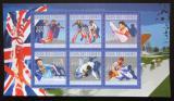 Poštovní známky Komory 2010 LOH Londýn Mi# 2914-19 Kat 10€