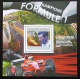 Poštovní známka Komory 2010 Formule 1 Mi# Block 591 Kat 15€
