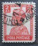 Poštovní známka Indie 1941 Král Jiří VI. Mi# 171