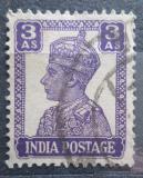 Poštovní známka Indie 1942 Král Jiří VI. Mi# 172