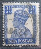 Poštovní známka Indie 1941 Král Jiří VI. Mi# 173