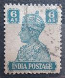 Poštovní známka Indie 1941 Král Jiří VI. Mi# 175