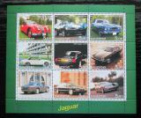Poštovní známky Dagestán, Rusko 2001 Automobily Jaguár Mi# N/N