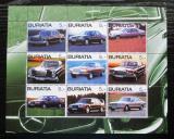 Poštovní známky Burjatsko, Rusko 2003 Automobily Mercedes Mi# N/N