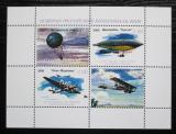 Poštovní známky Karačajevsko-Čerkesko, Rusko 2000 Letecká doprava Mi# N/N