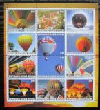 Poštovní známky Jižní Osetie, Rusko 2000 Létající balóny Mi# N/N