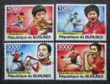 Poštovní známky Burundi 2011 Stolní tenis Mi# 2182-85 Kat 9.70€