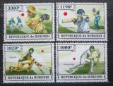 Poštovní známky Burundi 2013 Kriket Mi# 3283-86 Kat 10€