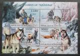 Poštovní známky Burundi 2012 Sportovní psi Mi# 2883-86 Kat 10€