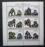 Poštovní známky Komory 2009 Gorily Mi# 2142-47