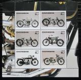 Poštovní známky Čuvašská rep., Rusko 2003 Motocykly Mi# N/N