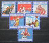 Poštovní známky Komory 2010 Basketbalisti Mi# 2865-70 Kat 10€