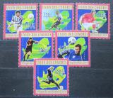 Poštovní známky Komory 2010 MS ve fotbale Mi# 2851-56 Kat 10€