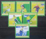 Poštovní známky Komory 2010 Brazilští fotbalisti Mi# 2824-29
