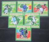 Poštovní známky Komory 2010 Afričtí fotbalisti Mi# 2831-36 Kat 10€