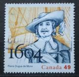 Poštovní známka Kanada 2004 Pierre Dugua de Mons, kolonizátor Mi# 2203