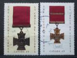 Poštovní známky Kanada 2004 Viktoriin kříž Mi# 2218-19
