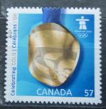 Poštovní známka Kanada 2010 ZOH Vancouver, zlatá medaile Mi# 2618