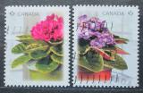 Poštovní známky Kanada 2010 Květiny Mi# 2623-24
