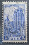 Poštovní známka Indie 1951 Chrám Lingaraja Mi# 217
