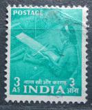 Poštovní známka Indie 1955 Tkadlena Mi# 243